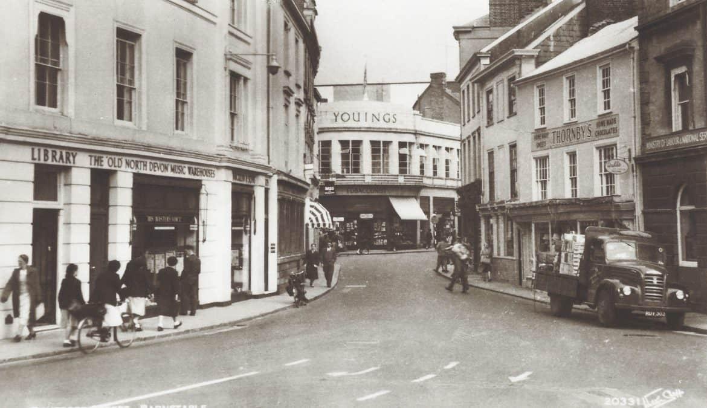 Boutport Street - 1950's